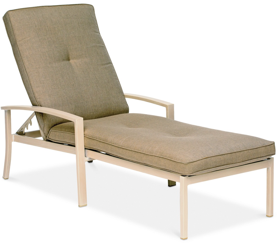 Beach House Outdoor Chaise Lounge (Credit: Macy's)