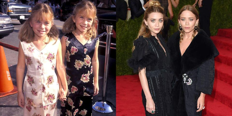 <p>These girls have always nailed the almost-matching-but-not-quite look. </p>