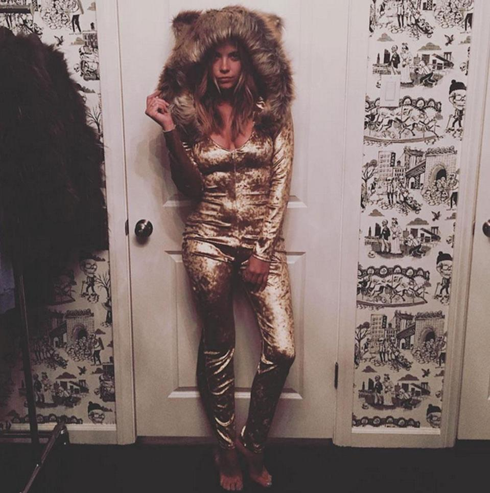 """<p>The 'Pretty Little Liars' actress landed in her fans' bad books by posing as the murdered Cecil the Lion in 2015. Posting a photo of her trying on the sexed-up costume, the caption read: """"What do you guys think of this Cecil the Lion costume?"""" Ashley later said that her management had written the caption, adding: """"[The] post was in poor taste and I absolutely regret all of the hurt that photo caused. The caption that was posted was incorrect and my costume was not Cecil the Lion. When I saw that, I contacted my management who handled the post and had it immediately changed.""""<br><i>[Photo: Instagram/ashleybenson]</i> </p>"""