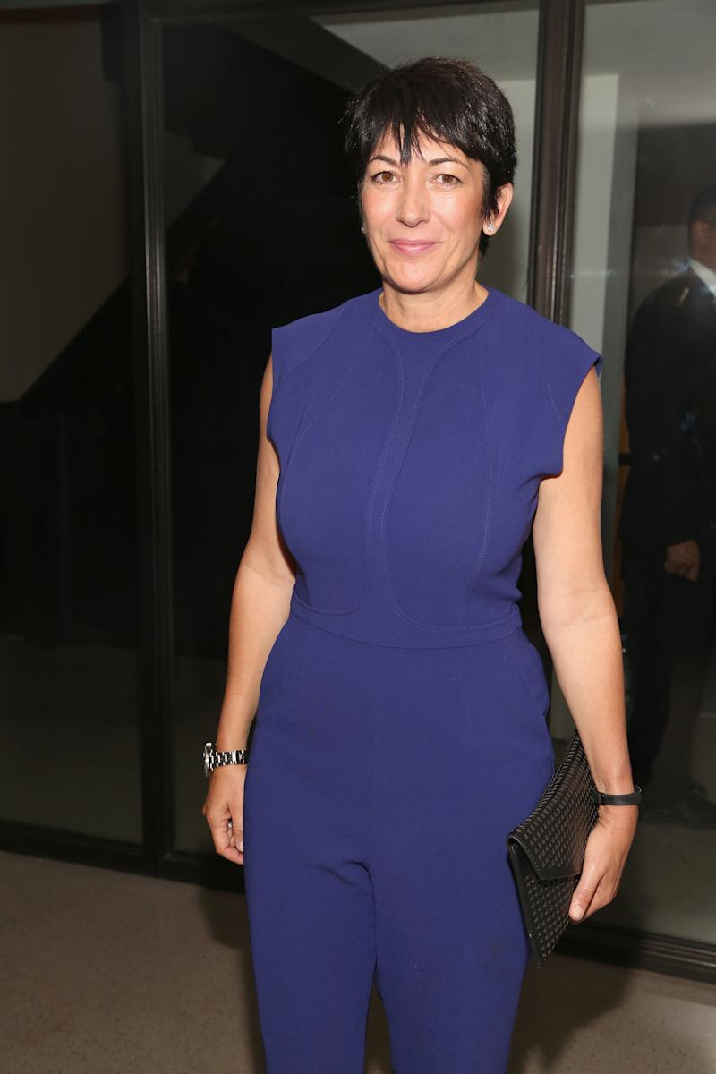 NEW YORK, NY - OCTOBER 18: Ghislaine Maxwell attends VIP Evening of Conversation for Women's Brain Health Initiative, Moderated by Tina Brown at Spring Studios on October 18, 2016 in New York City. (Photo by Sylvain Gaboury/Patrick McMullan via Getty Images)