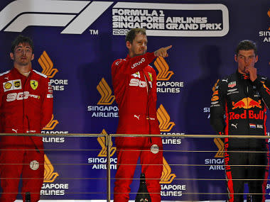 Formula 1 2019: Did Ferrari favour Sebastian Vettel? Mistakes from Mercedes and other talking points from Singapore GP