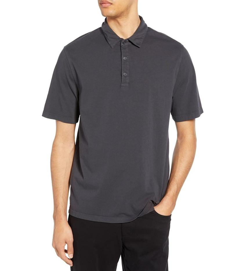 Vince Garment Dyed Slim Fit Polo (Photo: Nordstrom)