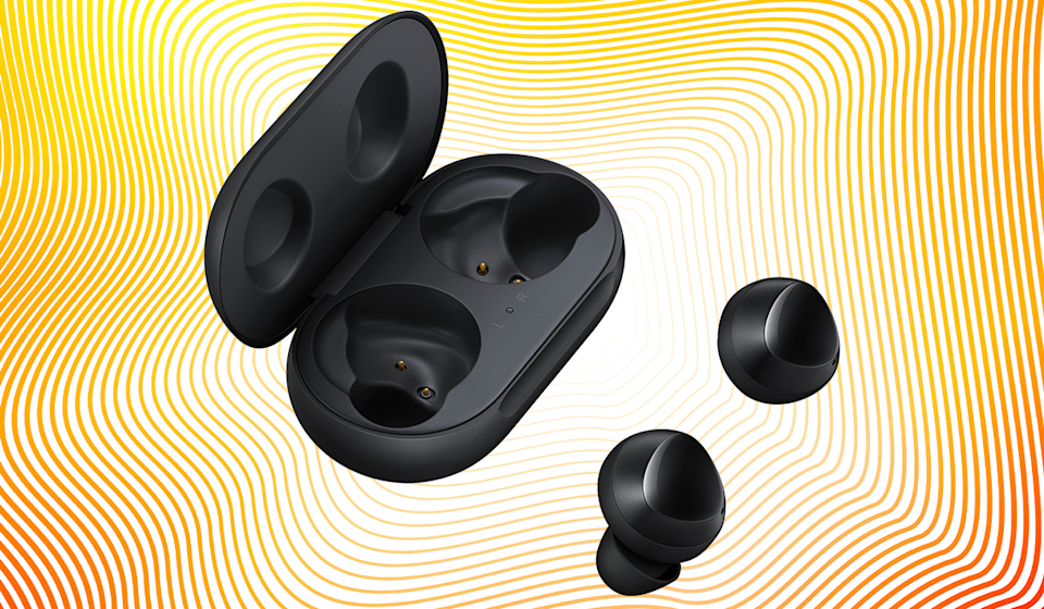Save 38 percent on these Samsung Galaxy Buds True Wireless Earbuds. (Photo: Amazon)