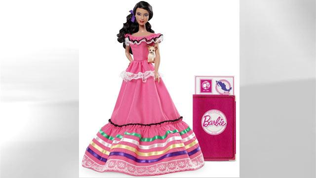 Mexico Barbie Too 'Colorful' for Some
