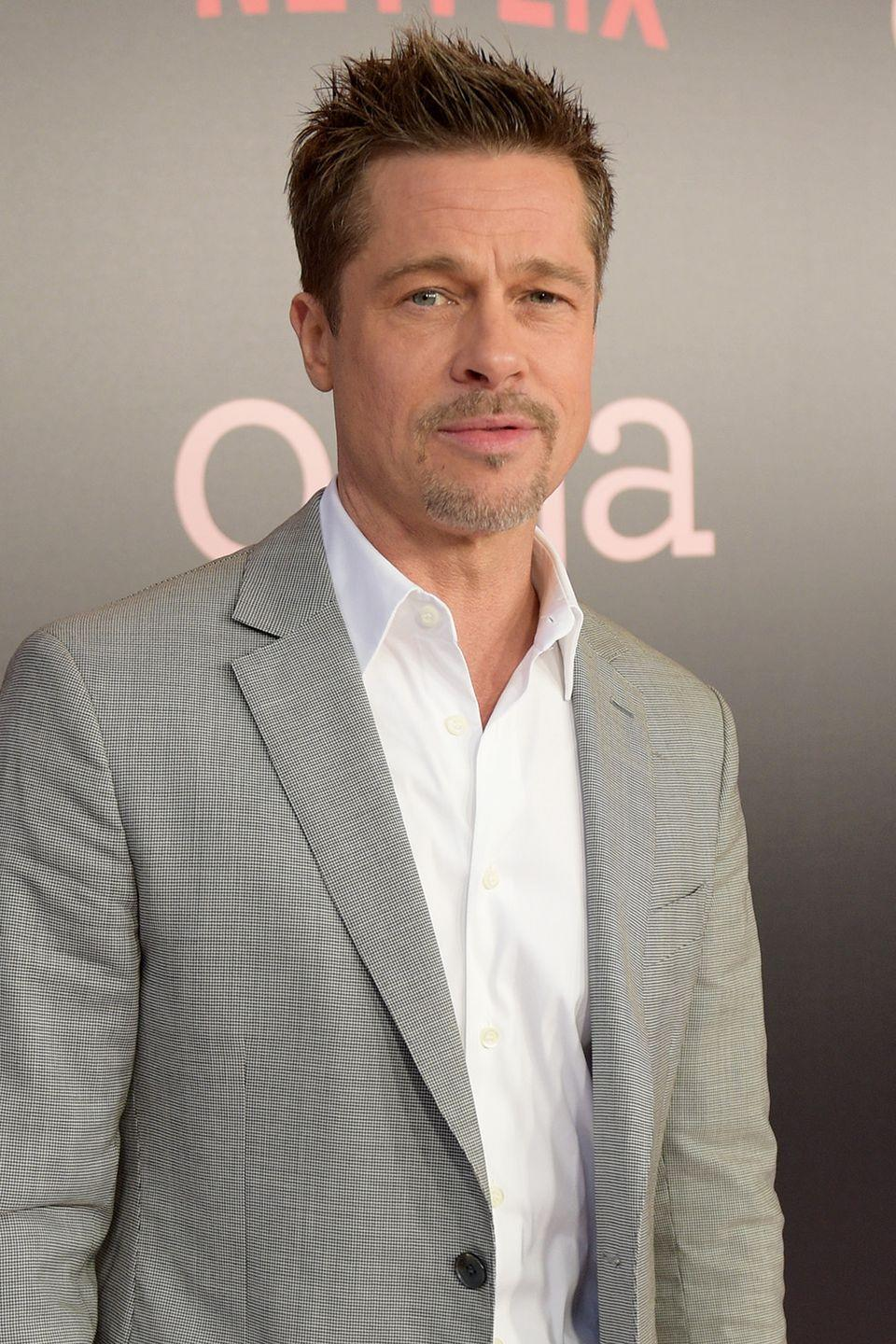 """<p>The actor opened up most recently in his <a href=""""http://www.gq.com/story/brad-pitt-gq-style-cover-story"""" rel=""""nofollow noopener"""" target=""""_blank"""" data-ylk=""""slk:GQ Style"""" class=""""link rapid-noclick-resp"""">GQ Style</a> cover story this year about the struggles he has faced with alcohol addiction in the past. When asked about his experience going cold turkey, he said simply: 'I didn't want to live that way any more.'</p>"""