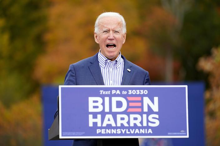 Biden warned in a tweet last October that the US was not prepared for a pandemic (AP Photo / Andrew Harnik) (AP)