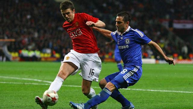 <p><strong>Status: Manchester United</strong></p> <br><p>Michael Carrick started alongside Paul Scholes in the centre of midfield for the final. He played the whole 120 minutes in the final and scored United's second penalty in the shootout.</p> <br><p>Carrick was playing in his second season with United, and is one of only two members of the starting 11 that still currently plays for United.</p> <br><p>He has since made 356 appearances for the club, which has included three more Premier League titles and an FA Cup triumph.</p> <br><p>When fit, he is usually a popular and reliable choice for manager Jose Mourinho, and will look to add a Europa League title to his honours list when United face Ajax in the Europa League final next week.</p>