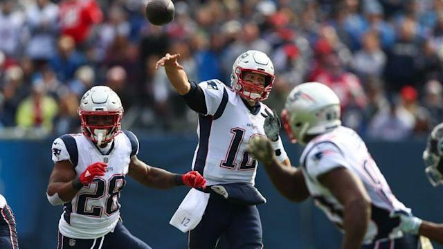 "Tom Brady didn't have the best day against Tennessee, and he accepted ""lumps"" from Dion Lewis."