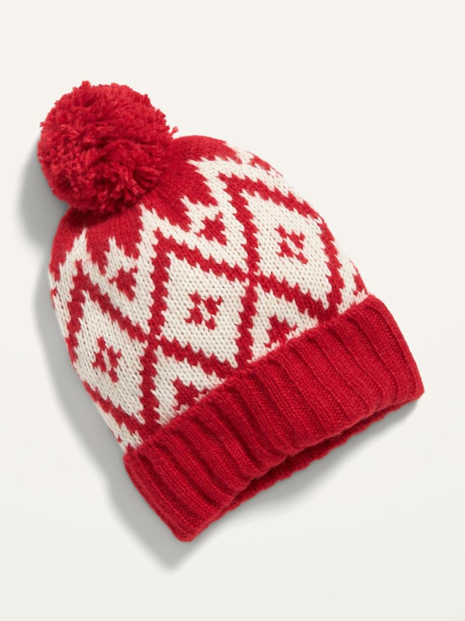<p>This <span>Cozy Pom-Pom Sweater Beanie</span> ($8, originally $10) is oozing with feel-good vibes.</p>