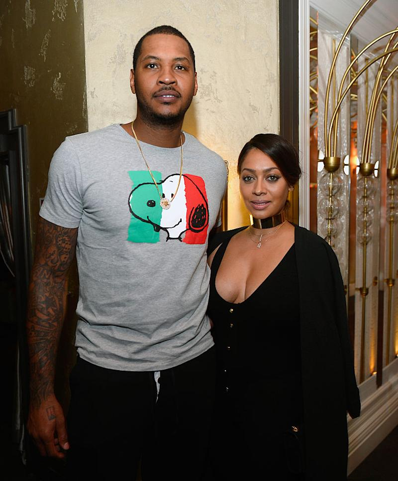 Carmelo Anthony Shares Sexy Pic of La La After She Admitted She Wasn't Divorcing Him 'Right Now'