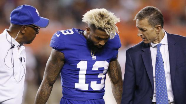 Odell Beckham Jr. says ankle is 'straight,' admits it's not 100 percent