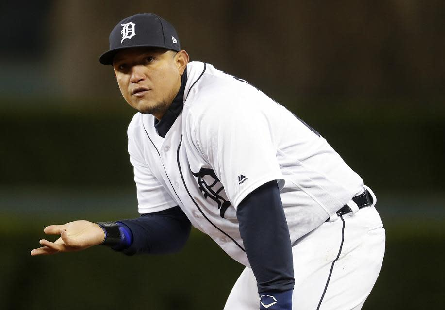 Detroit Tigers first baseman Miguel Cabrera is done playing hurt after fan backlash made his efforts feel unappreciated. (AP)