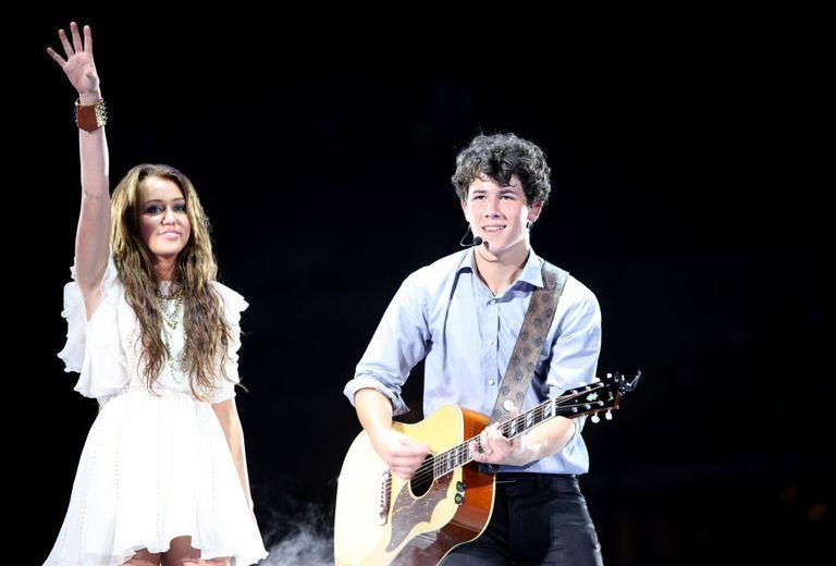 """<p>Nick and Miley dated during their Disney teenage years - and the 'Party In The USA' singer was hit pretty hard by the split. """"At first I bawled for a month straight. I was so sad. I just went into this weird funk. And I dyed my hair black,"""" Cyrus told Seventeen. </p><p>""""When we were dating, Nick wanted me to get highlights—and so I did that, and I got myself looking great. And then, on the day we broke up, I was like, I want to make my hair black now—I don't want to look pretty; I want to look hard-core. I was rebelling against everything Nick wanted me to be. And then I was like, I've got to be by myself for now, and just figure out who I really am.""""</p>"""