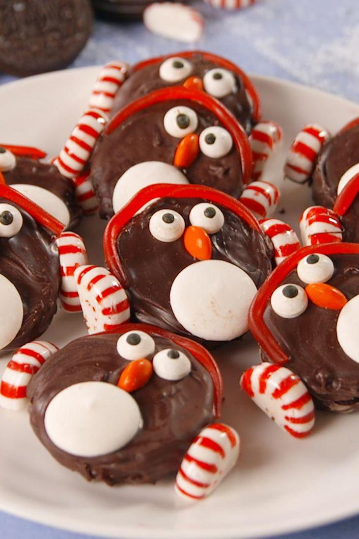 """<p>You will melt over these penguins.</p><p>Get the recipe from <a rel=""""nofollow noopener"""" href=""""https://www.delish.com/cooking/recipe-ideas/recipes/a57146/oreo-penguins-recipe/"""" target=""""_blank"""" data-ylk=""""slk:Delish"""" class=""""link rapid-noclick-resp"""">Delish</a>.</p><p><strong><em>BUY NOW: Rainbow whisk, $17.50, <a rel=""""nofollow noopener"""" href=""""http://aax-us-east.amazon-adsystem.com/x/c/QpB_mecsVIlsXPc_YI0Xy_4AAAFg4qtj_AEAAAFKAfQuIGM/https://www.amazon.com/Kuhn-Rikon-Silicone-Rainbow-10-Inch/dp/B000XR2EUY/ref=as_at/?creativeASIN=B000XR2EUY&linkCode=w61&imprToken=wyTZf-Is1W0BJ8iOU3JaKA&slotNum=0&ie=UTF8&qid=1512957660&sr=8-2&keywords=rainbow+whisk&tag=delish_auto-append-20&ascsubtag=[artid 1782.a.57146[src """" target=""""_blank"""" data-ylk=""""slk:amazon.com"""" class=""""link rapid-noclick-resp"""">amazon.com</a>.</em></strong></p>"""