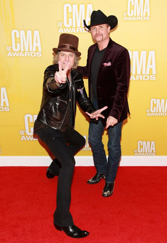 Big Kenny and John Rich 46th Annual CMA Awards - Arrivals
