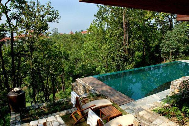 One-Bedroom Villa with Private Pool at Ananda in the Himalayas -  Ananda offers various packages, but for a truly intimate experience, go for the Couples Connect package, which consists of a three or five-night stay coupled with spa treatments in the privacy of a couples-only spa suite. The three-night version offers an array of treatments for two, including Ananda Touch, Ananda Fusion, Aromatherapy massage, Himalayan Honey and Rose facials and the special Couples Connect Ritual by Ila.