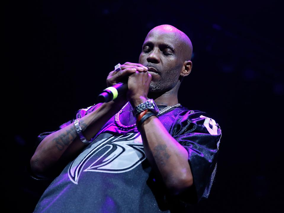DMX praying