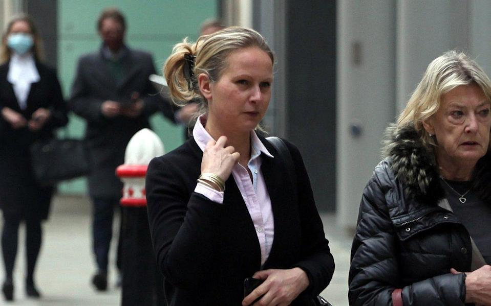 Juliet Miles (pictured) and her sister Lauretta Shearer say they are due 'maintenance' from the estate of Tony Shearer