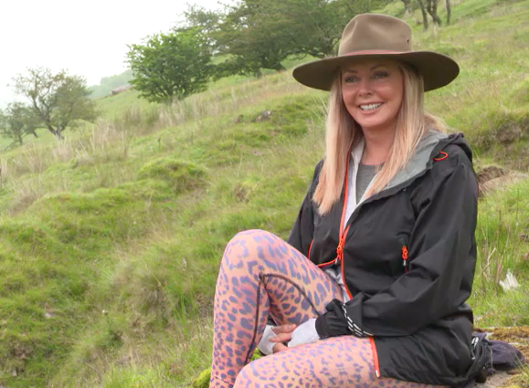 Carol Vorderman loves hiking in the Brecon Beacons (Credit ITV)