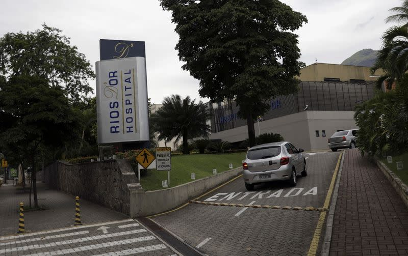 Rios D'or Hospital, which is part of Rede D'Or Sao Luiz SA hospitals chain, is pictured in Rio de Janeiro