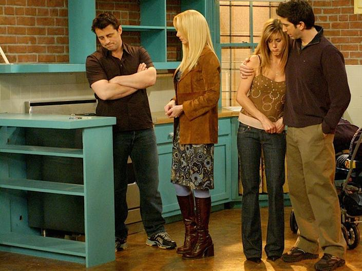 Phoebe paired her final dress with knee-high boots.
