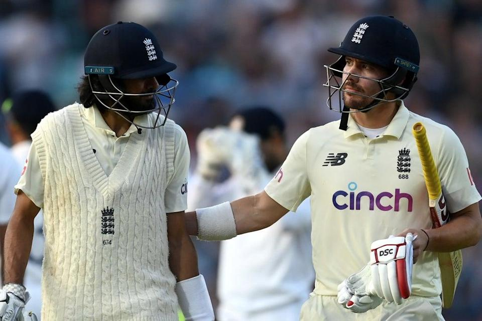 Haseeb Hameed and Rory Burns took England to 77-0 at stumps  (Getty Images)