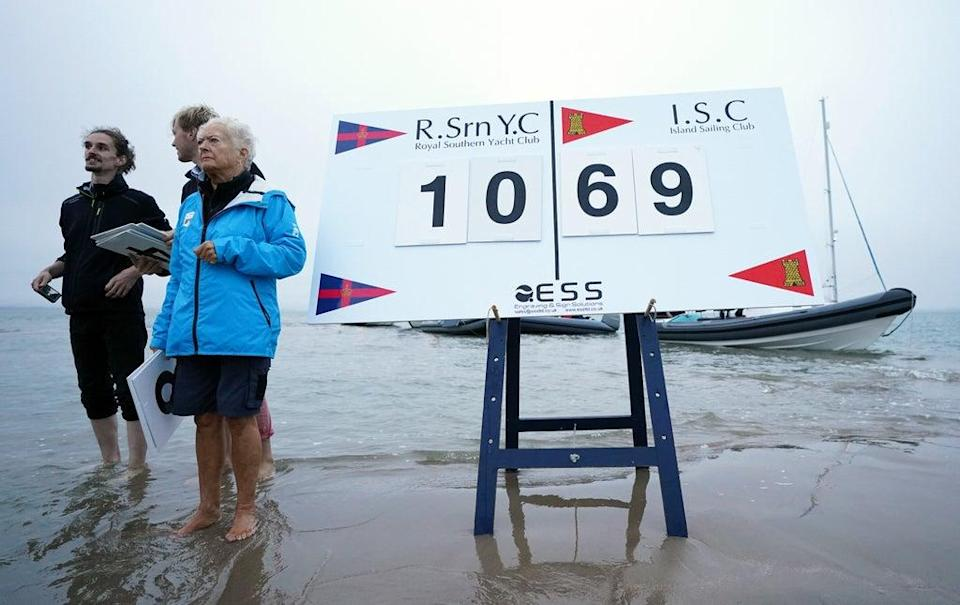 The scorers were also all at sea (Andrew Matthews/PA) (PA Wire)