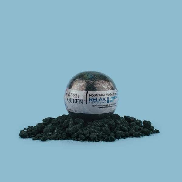 <p>The <span>Kush Queen Black Magic CBD Bath Bomb</span> ($13) uses a blend of lavender, chamomile, and frankincense to relieve your body of stress and even give your immune system a little boost.</p>
