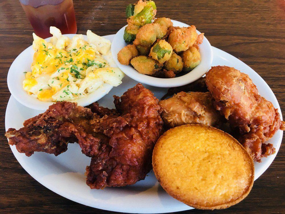 "<p>When in Alaska, go for the catfish. <a href=""https://roscoescatfishandbarbeque.webs.com/"" target=""_blank"">Roscoe's</a> sweet tea is also some of the best in the state.</p>"