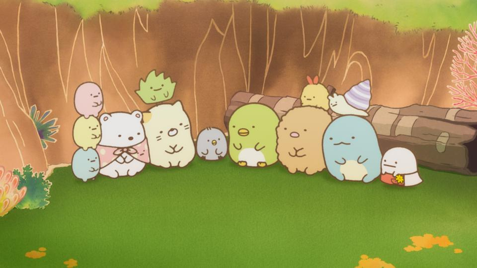 Sumikkogurashi: The Movie, as its name suggests, is a story about the popular, fluffy-looking San-X characters, the Sumikko friends who love to reside in corners. (Still: Encore Films)