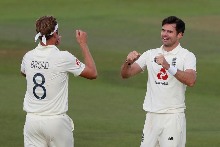 England pace pair James Anderson (right) and Stuart Broad have taken more than 1,100 Test wickets between them