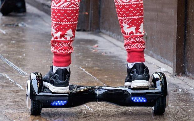 The reader bought her grandson a hoverboard, which later turned out to be faulty - Copyright (c) 2015 Rex Features. No use without permission.