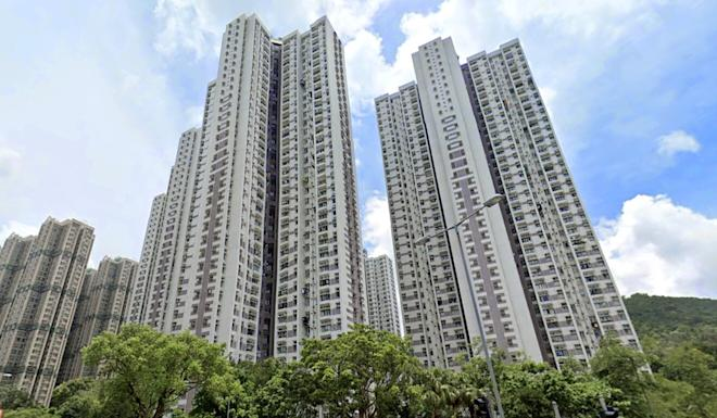 A view of Yan Shing Court, in Fanling, where five of the six suspected fraudsters were arrested on Wednesday. Photo: Handout