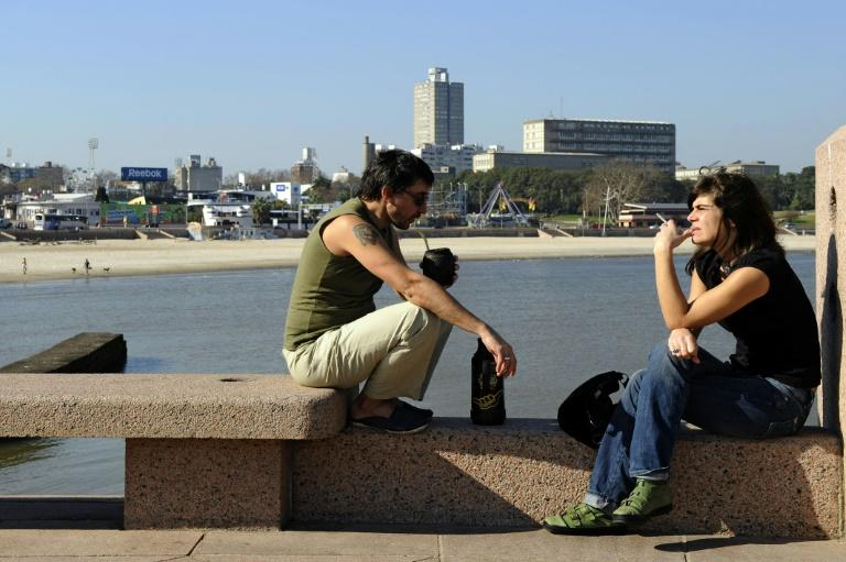 Social distancing is putting an end to sharing mate through a single metal straw called a 'bombilla', a popular activity in Argentina, Paraguay and Uruguay
