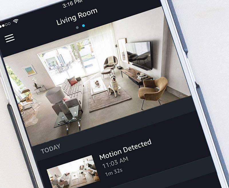 Keep an eye on your home from your smartphone. (Photo: Amazon)