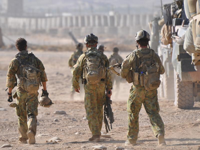 Aust troops 'kill two Afghan children'
