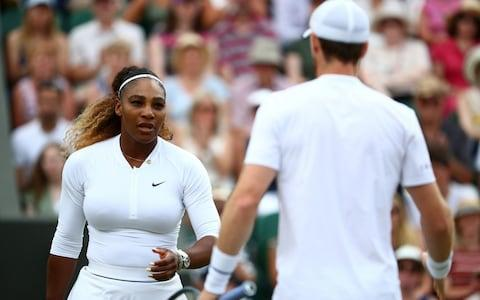 Serena Williams of the U.S. and Britain's Andy Murray - Credit: REUTERS