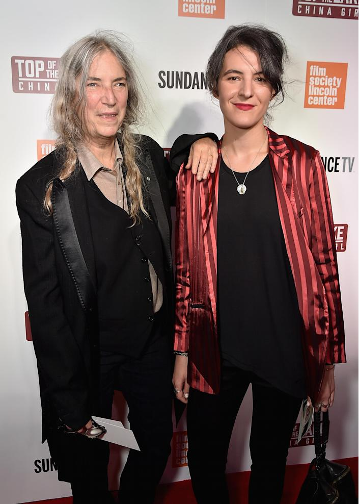 Patti and Jesse Paris Smith. (Photo: Getty Images)
