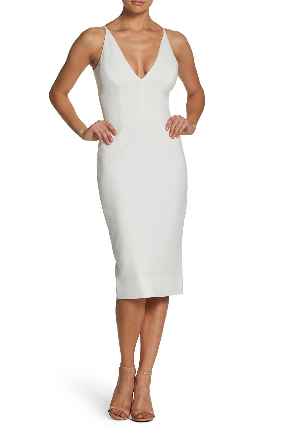 """<p><strong>DRESS THE POPULATION</strong></p><p>nordstrom.com</p><p><a href=""""https://go.redirectingat.com?id=74968X1596630&url=https%3A%2F%2Fwww.nordstrom.com%2Fs%2Fdress-the-population-lyla-crepe-cocktail-dress%2F5806010&sref=https%3A%2F%2Fwww.townandcountrymag.com%2Fstyle%2Ffashion-trends%2Fg36557314%2Fnordstrom-half-yearly-sale-may-2021%2F"""" rel=""""nofollow noopener"""" target=""""_blank"""" data-ylk=""""slk:Shop Now"""" class=""""link rapid-noclick-resp"""">Shop Now</a></p><p>$99.98</p><p><em>Original Price: $168</em></p>"""