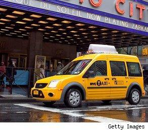 New York taxi cost