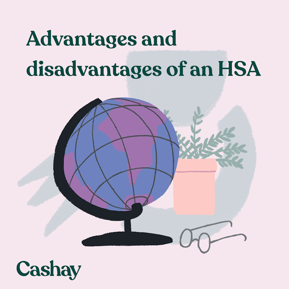 There are pros and cons to contributing to an HSA. (Graphic: Hannah Smart/Cashay)