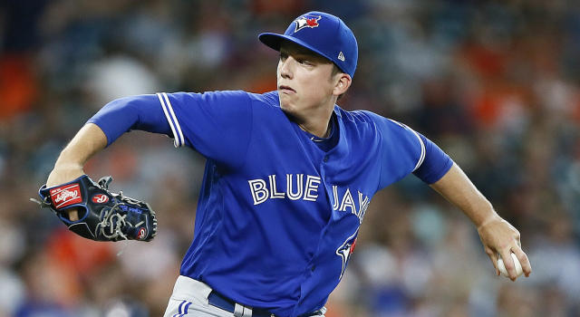 Ryan Borucki is off to a strong start to his big-league career. (Bob Levey/Getty Images)