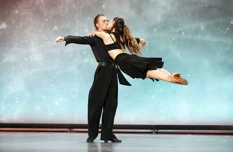 Contestants Vasily and Kristina on Fox's So You Think You Can Dance. (Photo Credit: Adam Rose/FOX)