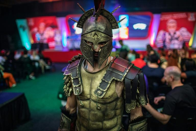 Some 60,000 people are expected to attend the second edition of Comic Con Africa (AFP Photo/Michele Spatari)