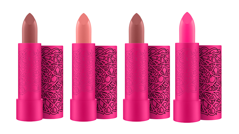 Limited-edition El Seed lipsticks by M.A.C Cosmetics.