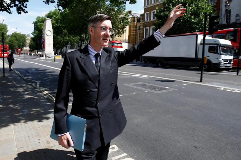 Jacob Rees-Mogg told BBC Newsnight that the Treasury was in a