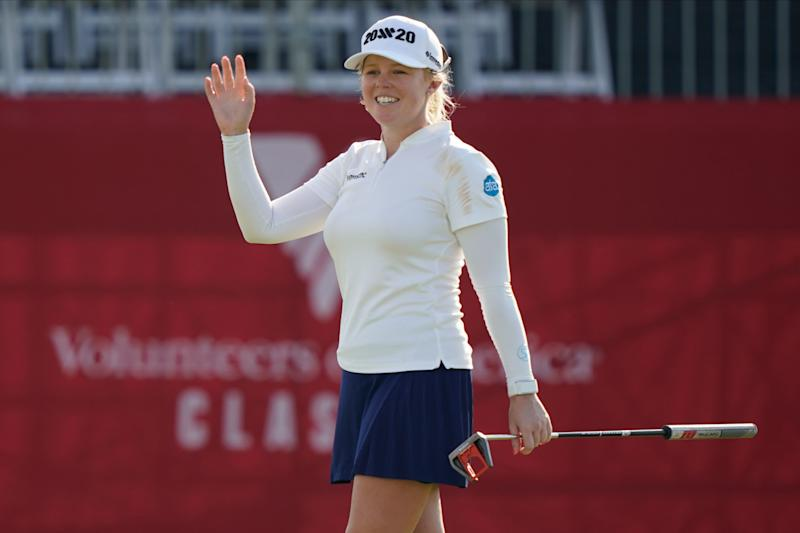 Lpga Money List 2020.Watch The Awesome Reaction When Stephanie Meadow Makes A