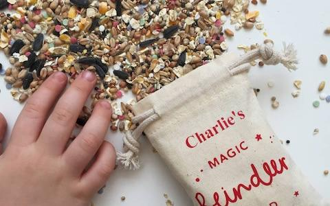 Personalised Christmas Magic Reindeer Food - Credit: Not On The High Street