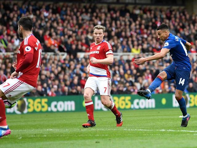 Lingard scored a spectacular goal for United (Getty)