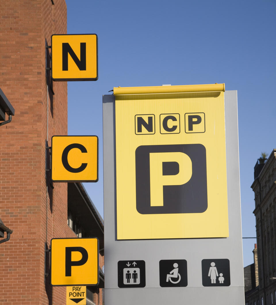 NCP multi storied car park, Foundation Street, Ipswich, Suffolk, England. (Photo By: Geography Photos/Universal Images Group via Getty Images)
